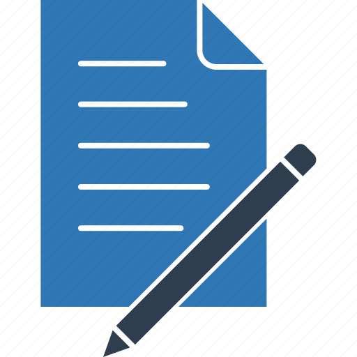 document, notepad, pen, pencil, write, writing, writing pad icon