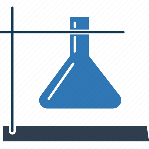 conical flask, flask, lab equipment, lab experiment, lab research, lab test, laboratory icon