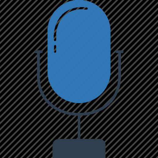 Mic, audio, music, microphone, radio mic, sound icon