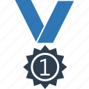 award, award badge, award ribbon, badge, medal, ribbon badge icon