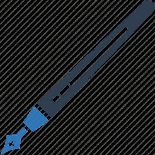 ball pen, ballpoint, pen, pencil, stationery, writing tool icon