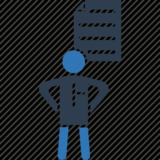 composing, cv, document, job agreement, job contract, resume icon