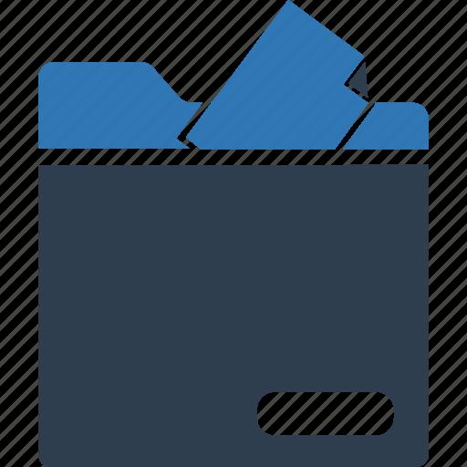 data folder, data storage, document, document folder, file storage, folder icon