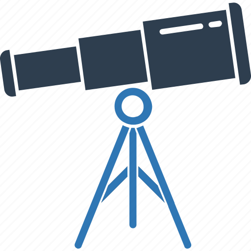 astronomy, planetarium, science, spyglass, telescope, vision icon