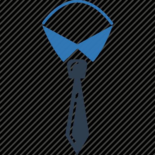 fashion, formal tie, necktie, neckwear, tie, uniform tie icon