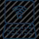laptop signals, wifi, wifi network, wifi signals, wifi zone, wireless internet icon