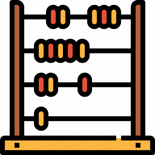 Abacus, business, calculator, education, finance, maths icon - Download on Iconfinder
