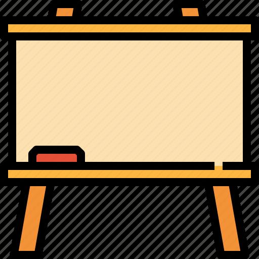 blackboard, board, education, school, tools icon