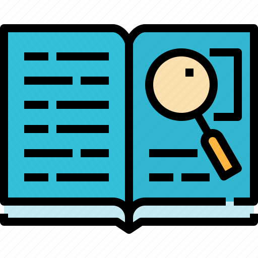 Book, books, education, open, search, study icon - Download on Iconfinder