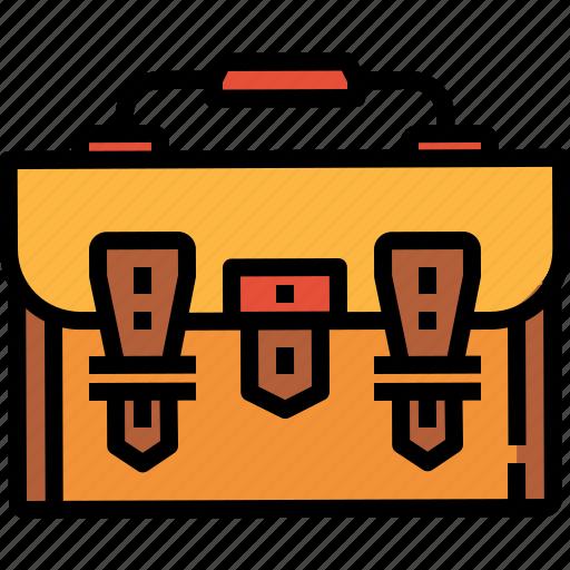 backpack, bag, baggage, luggage, school icon