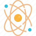 chemistry, science, molecule, nucleus, atomic, education, physics icon