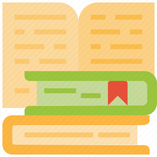 Book, bookmark, books, education, learning, library, study icon - Download on Iconfinder