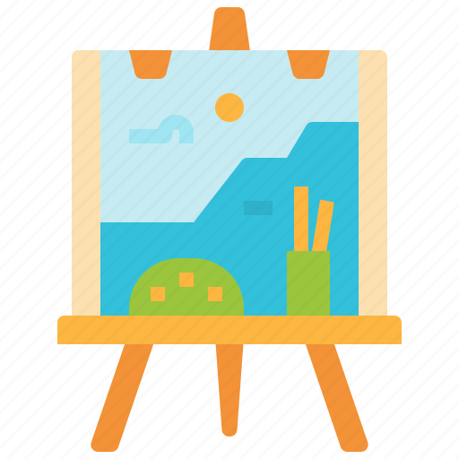 Art, canvas, paint, painting, tools icon - Download on Iconfinder