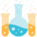 chemical, education, science, test, tools, tube icon