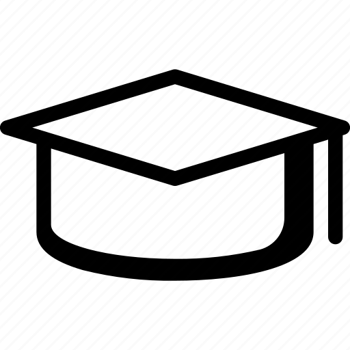 Education, knowledge, learning, mortar board, school, university icon - Download on Iconfinder