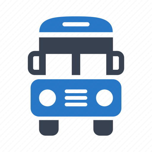 bus, school bus, transport icon