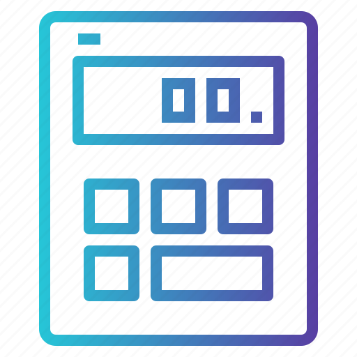 Calculator, education, math, technology icon - Download on Iconfinder