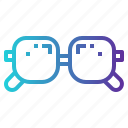eyeglasses, glasses, optical, vision icon