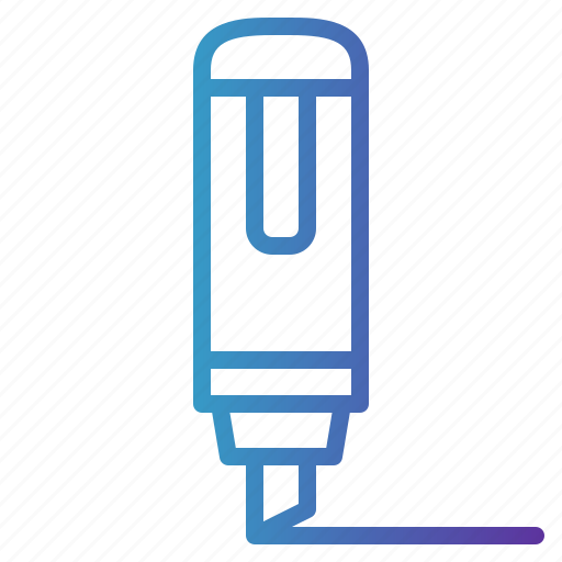 Education, marker, school, studying icon - Download on Iconfinder