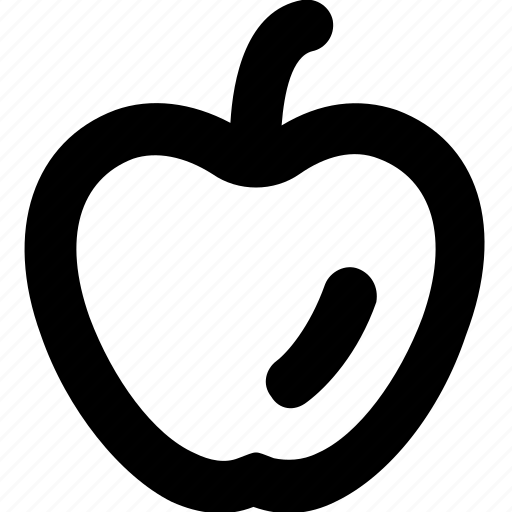 apple, food, fruit, healthy, nutrition icon