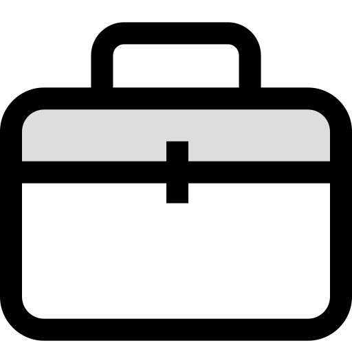 briefcase, case, learn, learning icon