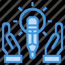 creative, education, school, student, tool icon