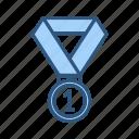 achievement, award, badge, medal, prize, success icon