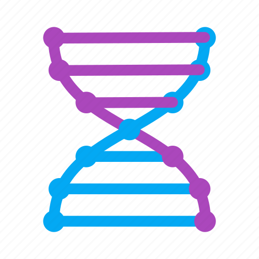 biology, chemistry, dna, helix, laboratory, molecule, science icon