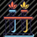 bio plant, biological science, botanical study, botany, natural science, tubes plant icon