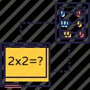 arithmetic, calculator, mathematics calculations, maths, tax calculations icon