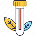 bio plant, biological science, botanical study, botany, natural science, tube plant icon