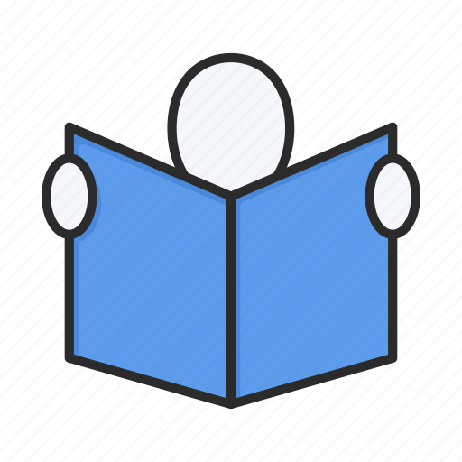 education, knowledge, reading, study icon
