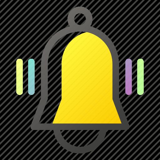 bell, education, learn, school, study icon