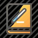 book, edit, education, learn, school, study icon