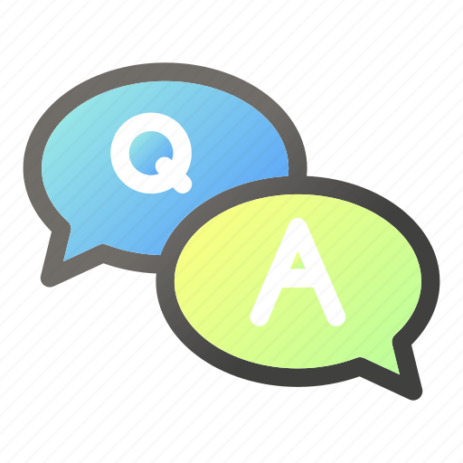 and, answer, education, learn, question, school, study icon