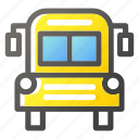 bus, education, learn, school, study