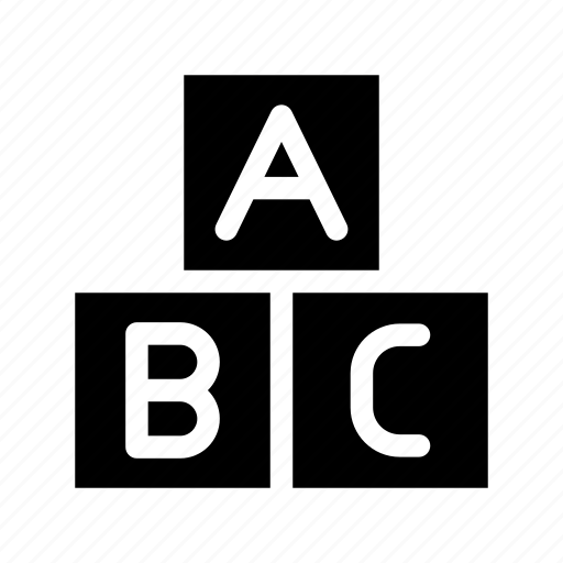 abc, education, learn, school, study icon
