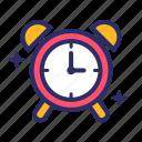 alarm, clock, schedule, time