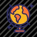 earth, global, globe, world