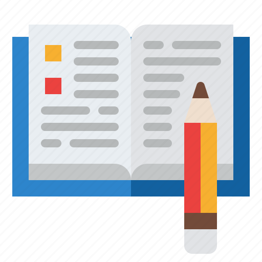 Paper, pen, study, writing icon - Download on Iconfinder