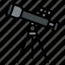 astronomy, star, telescope, watch