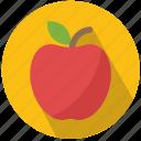 apple, education, food, fruit