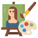 drawing, art, painting, picture, frame icon
