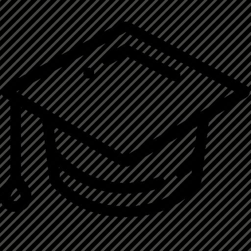 academic, cap, education, square, university icon