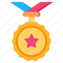 medal, award, winner, badge, achievement, reward