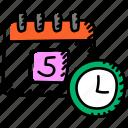 timetable, schedule, calendar, planner, agenda