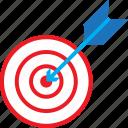 arc, arrow, education, target