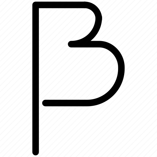beta, character, creative, education, font, grid, math, physics, second, shape, special, stroke, theory icon
