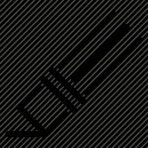 clean, clear, creative, delete, education, erase, eraser, grid, pencil, remove, rubber, shape, tool icon