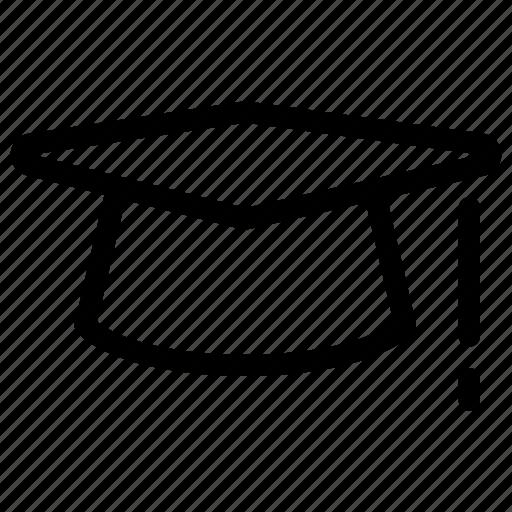 creative, education, female, graduation, grid, hat, male, school, shape, student, training, university icon